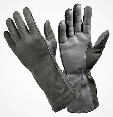 Stormtrooper Armour Costume Gloves nomex flight gloves half leather