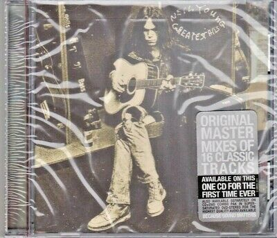 Neil Young--Greatest Hits Cd!!  Factory Sealed With Hype Sticker--Made In Usa!!
