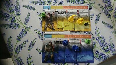 AZAGHAL et JOVEM Zombicide Gaming #5 Night Exclusive+ scénario et fiche perso