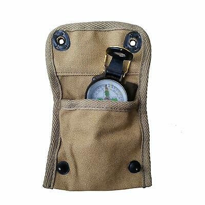 WW2 US ARMY Compass Pouch Bag with Modern Compass