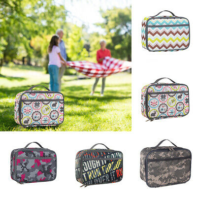 New Childrens Adult Lunch Bags Insulated Lunch Bag Picnic Bags School Lunch box