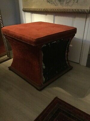 Antique Ottoman,  Storage Chest, Foot Stool for re-upholstery