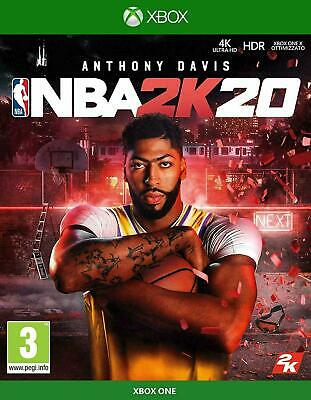NBA 2K20 Xbox One NEW SEALED DISPATCHING TODAY ALL ORDERS PLACED BY 2 P.M.