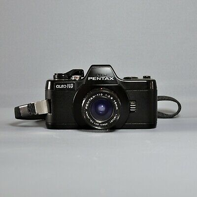 PENTAX Auto 110 Camera with F2.8 18mm lens