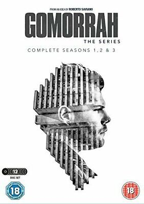 "Gomorrah Complete Season 1-3 Collection Dvd Box Set 12 Discs ""New&Sealed"""