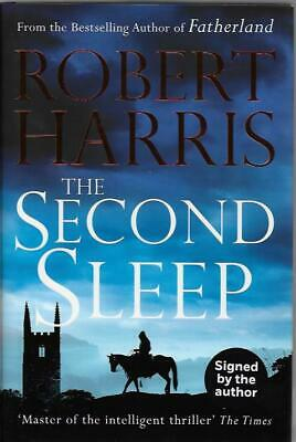 Signed The Second Sleep By Robert Harris New First Edition First Printing H/B