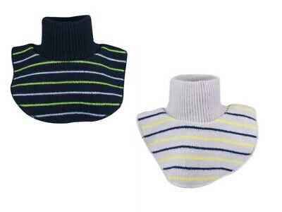 Baby Boys Autumn Winter Warm Knitted/Fleece Scarf Snood Neck Warmer One Size
