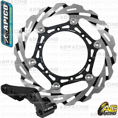 Apico Front Oversize Brake Disc Rotor 270mm & Adapter For Suzuki DRZ 400E 2002