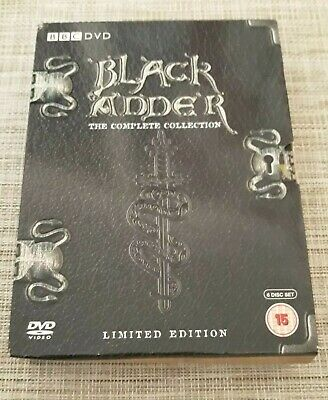 Blackadder The Complete Collection Limited Edition DVD Box Set BBC