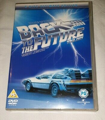 Back To The Future Trilogy 4 Disc Ultimate Edition DVD