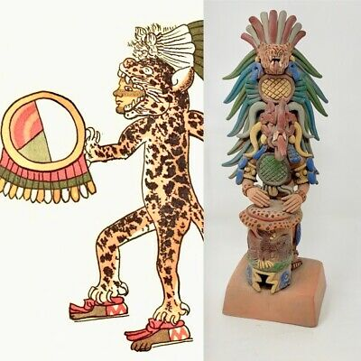 Warrior Ocelopilli Mexico Crafts