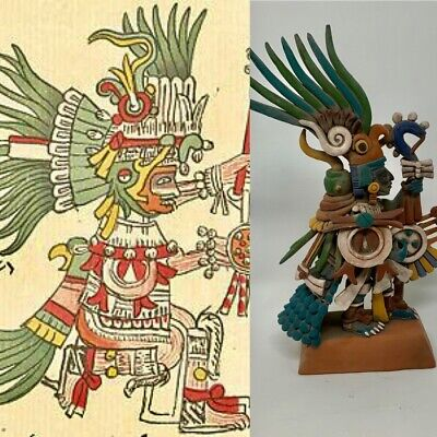 Warrior Huitzilopochtli Mexico Crafts