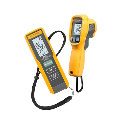FLUKE 417D / 62Max+ Laser Distance Meter and 62Max+ IR Thermometer Kit