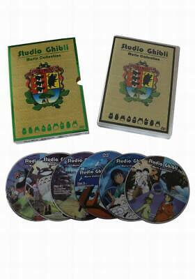 Hayao Miyazaki & Studio Ghibli Deluxe 17 Best Movie Collection (6 Discs)