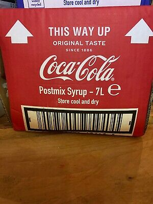 Classic Coca Cola Bag in Box Post-Mix Syrup 7lt FRESH STOCK