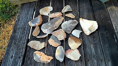 Texas Flint Knapping Chert Cach, Texas Arrowhead, Paleo Preform