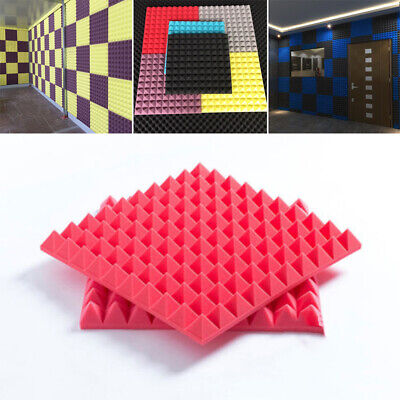 Sale Pyramid Shape Sponge Sound Absorption Soundproof Silencer For Ktv Room Etc