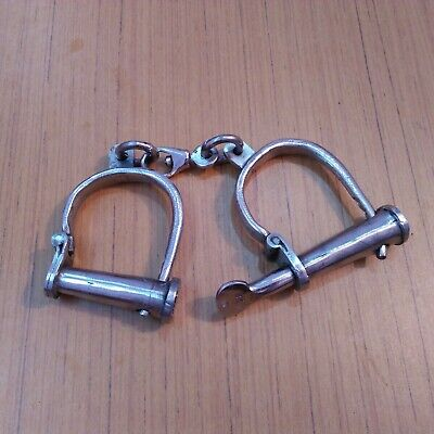 HandCuffs Antique Style Metal Collectible