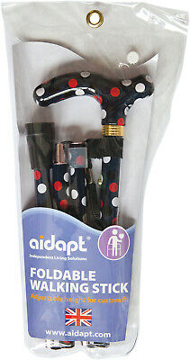 Aidapt Deluxe Folding Walking Cane - Various Designs