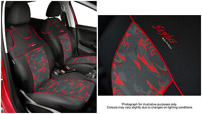 1999-09 Renault Kangoo Heavy Duty Leatherette Car Seat Covers 2 x Fronts