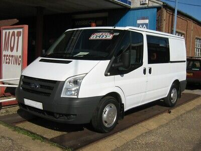2009 (59) Ford Transit 85 T260S SWB Crewvan Workvan Camper conversion?