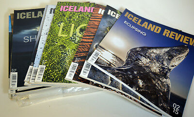Lot 15 Magazines Iceland Review Travel Turism Business Magazines