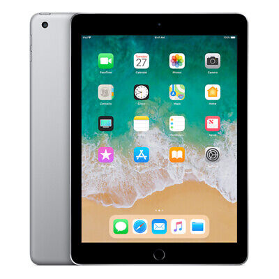"APPLE iPad  6th Gen (2018)  9.7"" WiFi 32GB - Space Grey"
