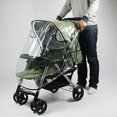 E045 Baby Universal Waterproof Stroller Rain Cover Dust Shield Pushchair Cover
