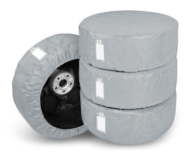 """4 x WHEEL COVERS 15"""" Car Spare Wheel Covers"""