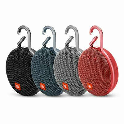JBL Clip 3 Portable Bluetooth Speaker With Carabiner