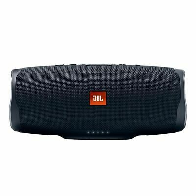 JBL Charge 4 Portable Bluetooth Speaker With Power Bank - Black