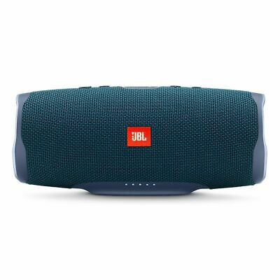 JBL Charge 4 Portable Bluetooth Speaker With Power Bank - Blue