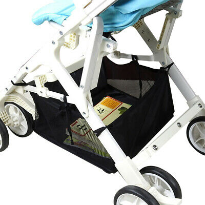 Qu_ Baby Stroller Pram Bottom Basket Pushchair Buggy Shopping Organizer Bag Nove