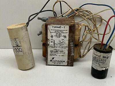 Advance 71A5642-T Pulse Start Metal Halide Ballast for 200W M136 480-VOLTS ONLY!