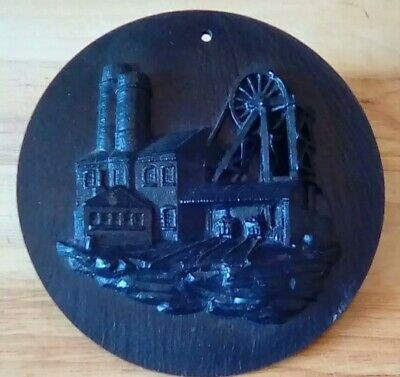 WELSH COAL CARVING collectables curios antique house clearance chic old retro