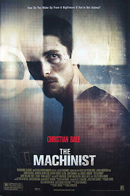 The Machinist (Single Sided) Regular) Original Movie Poster