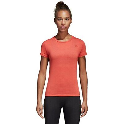 New CF4529 ADIDAS Women's FreeLift Climalite PRIME TEE Training T shirt UK -S-L