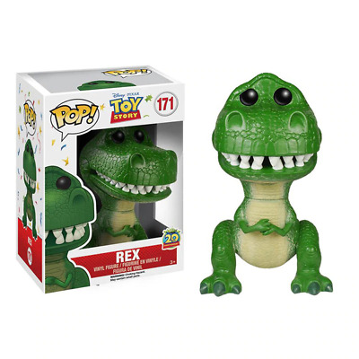 FUNKO POP TOY STORY REX Vinyl Action Figures Collection Model Toys for Children
