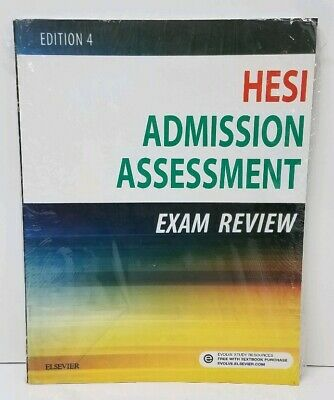 ELSEVIER HESI Admission Assessment Exam Review 4th Edition UNUSED
