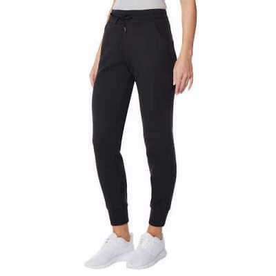 32 Degrees Women's Ladies' Tech Fleece Jogger Pant Black Size Medium NWT