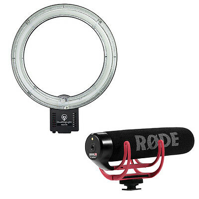 RODE VideoMic GO with Diva Ring Light Nova