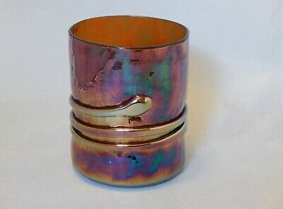 Esteban Prieto Art Glass Tumbler