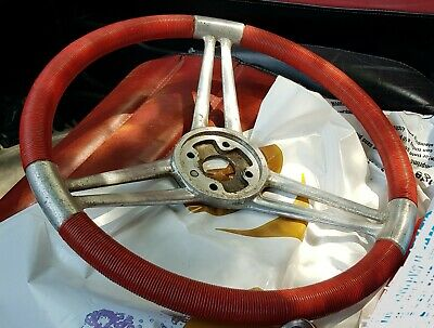 Volant Quillery Brevex Fil Rouge PANHARD CHAR AMD AML 1950 1960 Steering Wheel
