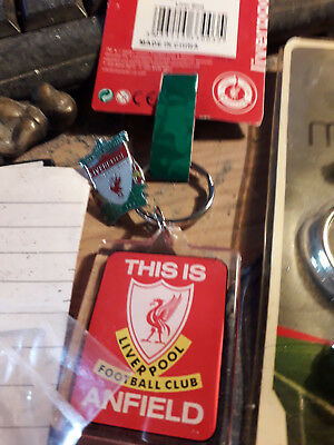 This  Is Anfield Liverpool Fc Key Ring New +Enamel Pin Badge