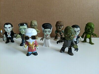 Lot of 9 Funko Mystery Minis Universal Studios Monsters