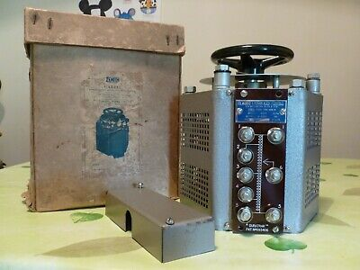 Claude Lyons Variac Type 100R M  0-270V 8A  2.1Kva  Excellent Working Order