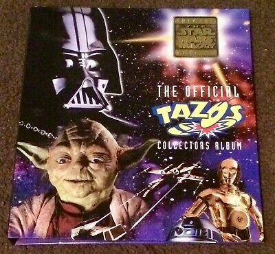 Star Wars the Official Tarzo Collectors Album Star Wars Trilogy Edition & Tazos