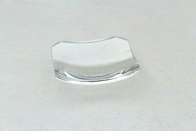 "Square Clock Glass 3 1/2"" Dome Face Convex Concave Lens 3.5"" Mitered Corners"