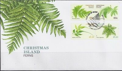 2012 Christmas Island - Ferns First Day Cover FDI