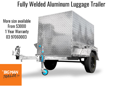Fully Welded Aluminium Luggage Trailer